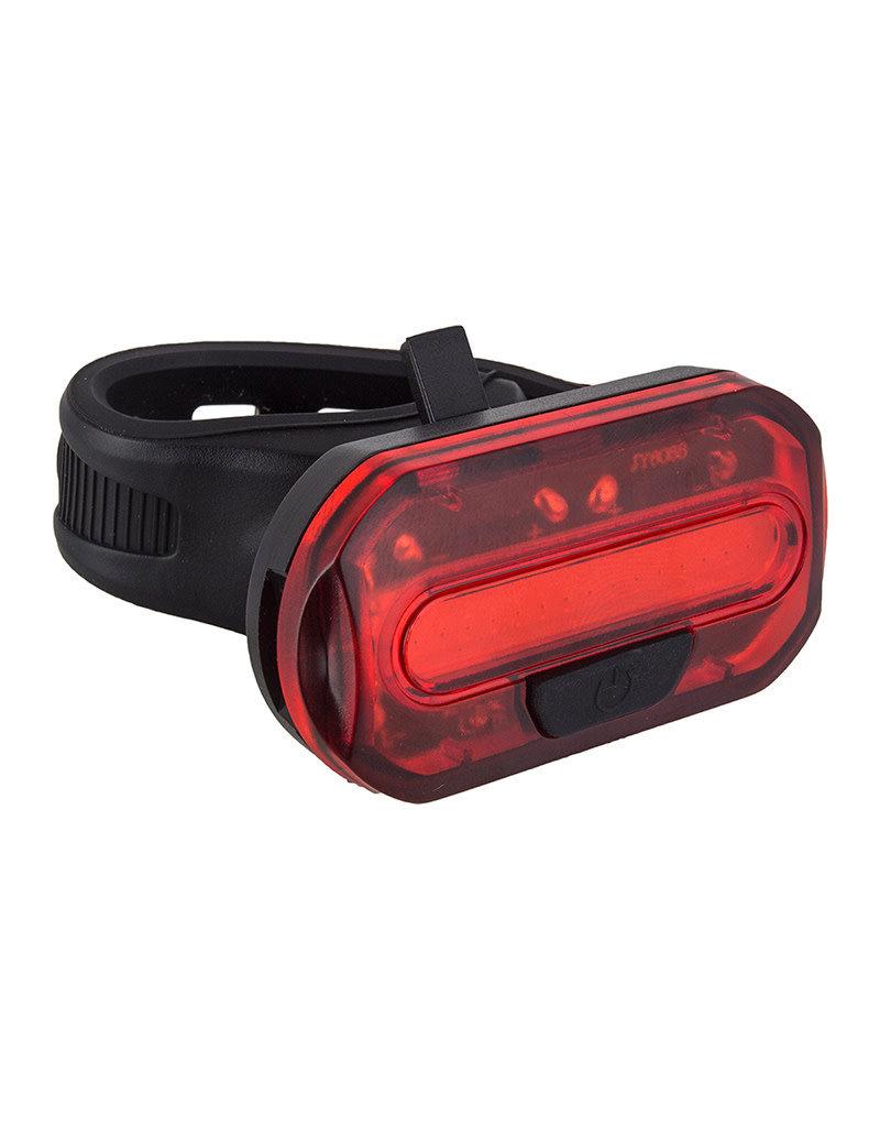 SUNLITE Sunlite Ion Tail Light 8 lumens w/Batteries