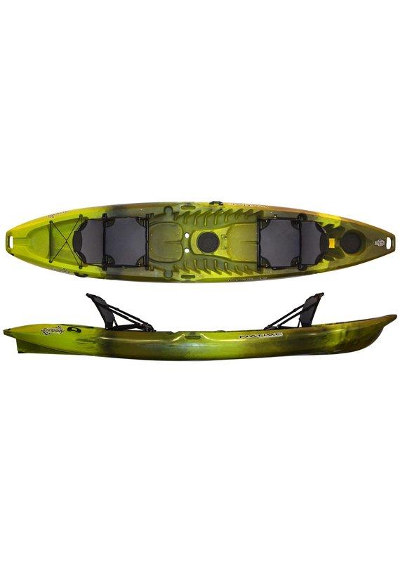 Native WaterCraft Native Watercraft Stingray Angler 13.5 Tandem Fishing Kayak