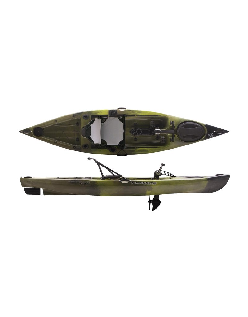 Native WaterCraft Native Watercraft Manta Ray Propel Angler Fishing Kayak