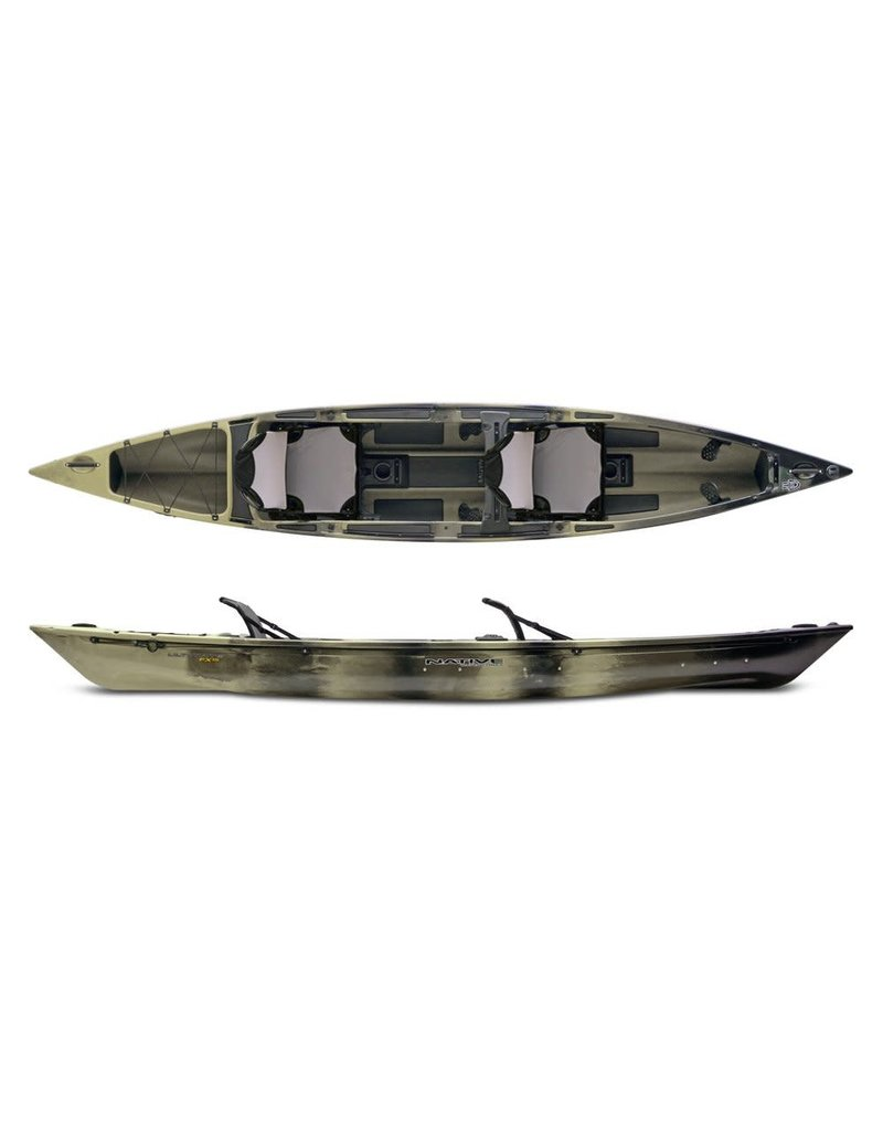 Native WaterCraft Native Watercraft Ultimate FX 15 Tandem Pro Fishing Kayak/Canoe
