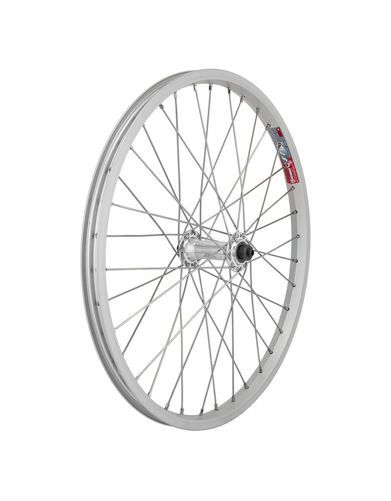 Wheels Manufacturing  Front Wheel 20x1.75 Silver Quick Release