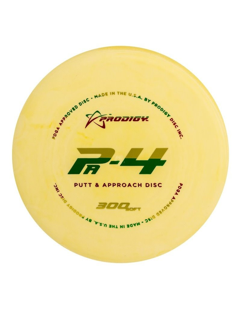 Prodigy Disc Golf Prodigy Pa-4 300 Soft Plastic Putt and Approach Golf Disc