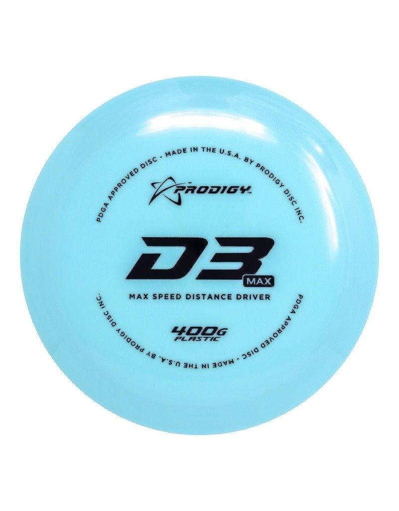 Prodigy Disc Golf Prodigy D3 Max 400G Max Speed Distance Driver Golf Disc