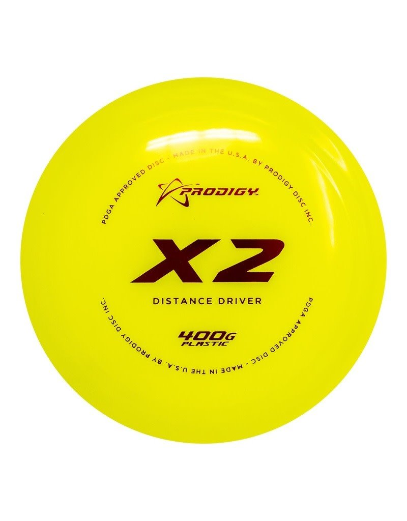 Prodigy Disc Golf Prodigy X2 400G Distance Driver Golf Disc