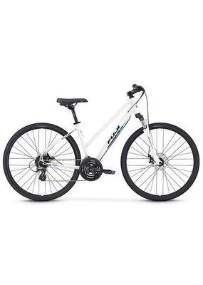 Fuji Fuji Traverse 1.5 ST Cross Terrain Hybrid Bicycle Pearl White