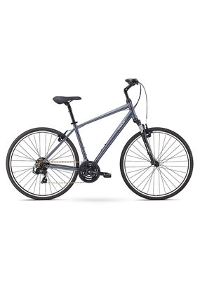 Fuji Fuji Crosstown 2.1 Lifestyle Hybrid Bicycle Charcoal