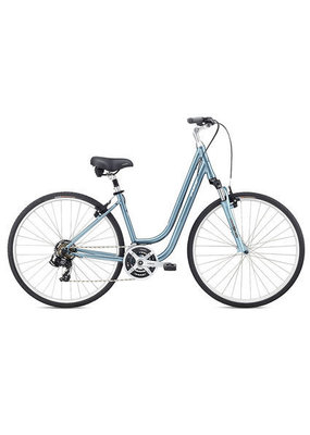 Fuji Fuji Crosstown 2.1 LS Lifestyle Hybrid Bicycle Light Blue