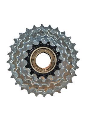 Sunrace FREE Wheel MULTI SUNRACE MFM2A 14-28 5 SPEED INDEX UCP/BK