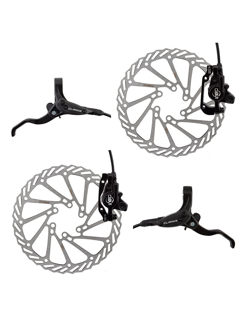 CLARKS Clarks Clout Front & Rear Hydraulic Disc Brake System -