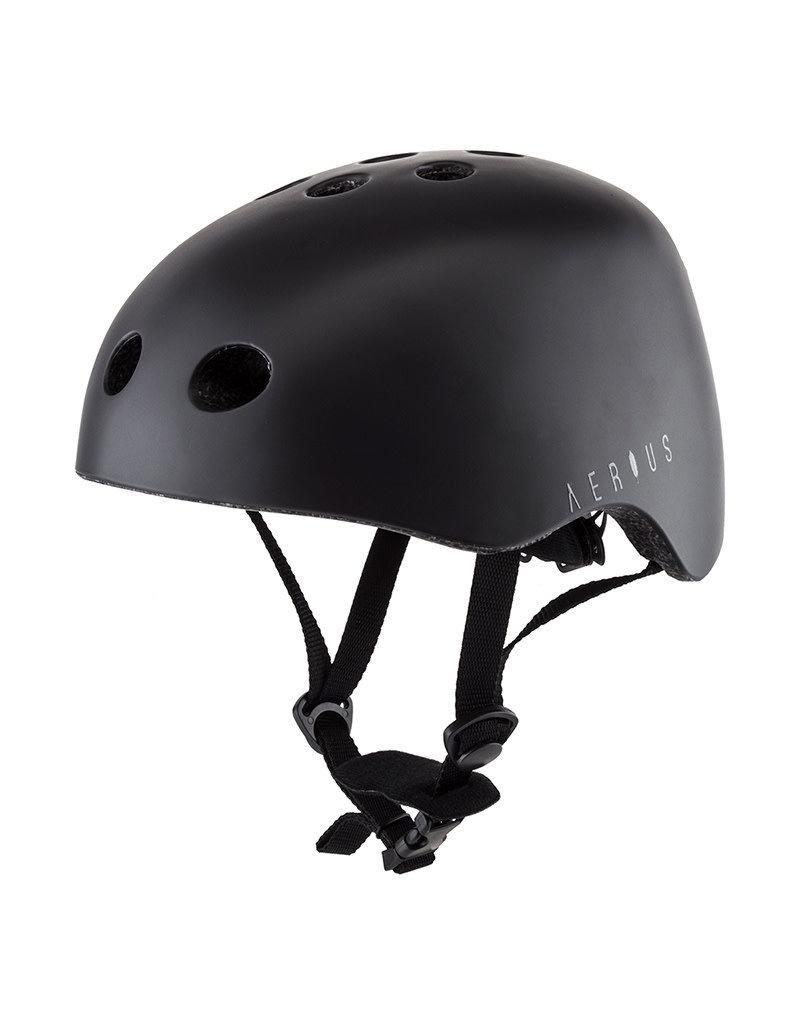 AERIUS AERIUS BMX BICYCLE HELMET CROW MD BLACK/GRAY