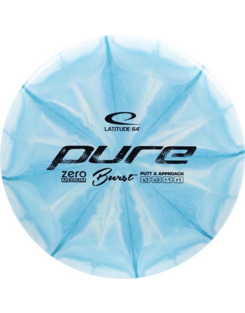 Latitude 64 Latitude 64 Zero Medium Burst Pure Golf Disc