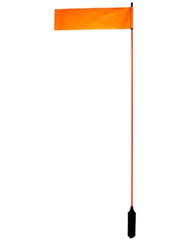 YAKATTACK YakAttack Visi Flag Kayak Rail Mounted Visibility Flag Tall Mast 52 inch