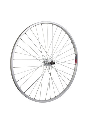 Hybrid/Comfort Single Wall Rear Bicycle Wheel ALOY Free Wheel 5/6/7 speed Quick Release
