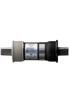Shimano SHIMANO CARTRIDGE BOTTOM BRACKET, BB-UN26 AXLE 122.5MM(LL123), S