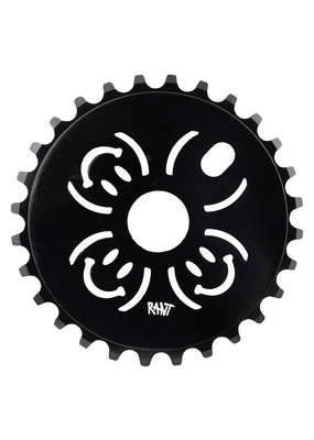 RANT Rant BMX Bicycle CHAINRING 28T 1/8 Black