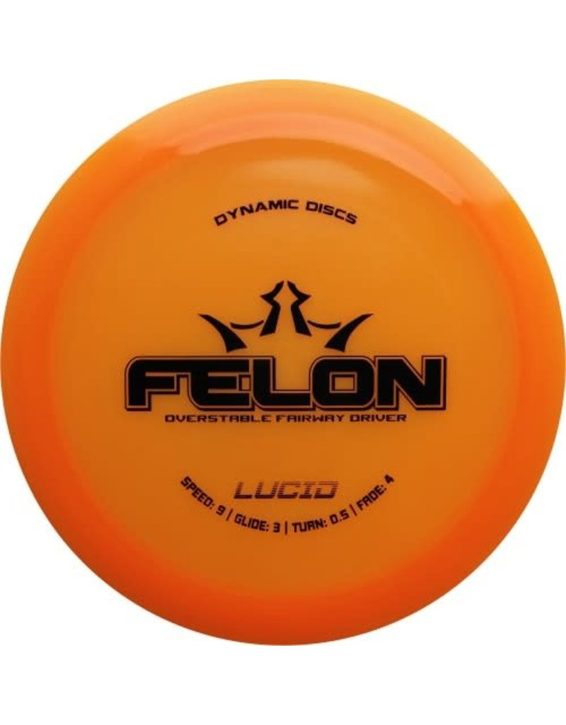Dynamic Discs Dynamic Discs Lucid Felon Fairway Driver Golf Disc