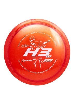 Prodigy Disc Golf Prodigy Discs Will Schusterick H3 V2 500 Golf Disc