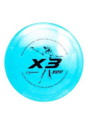 Prodigy Disc Golf Prodigy Discs Catrina Allen X3 500 Golf Disc