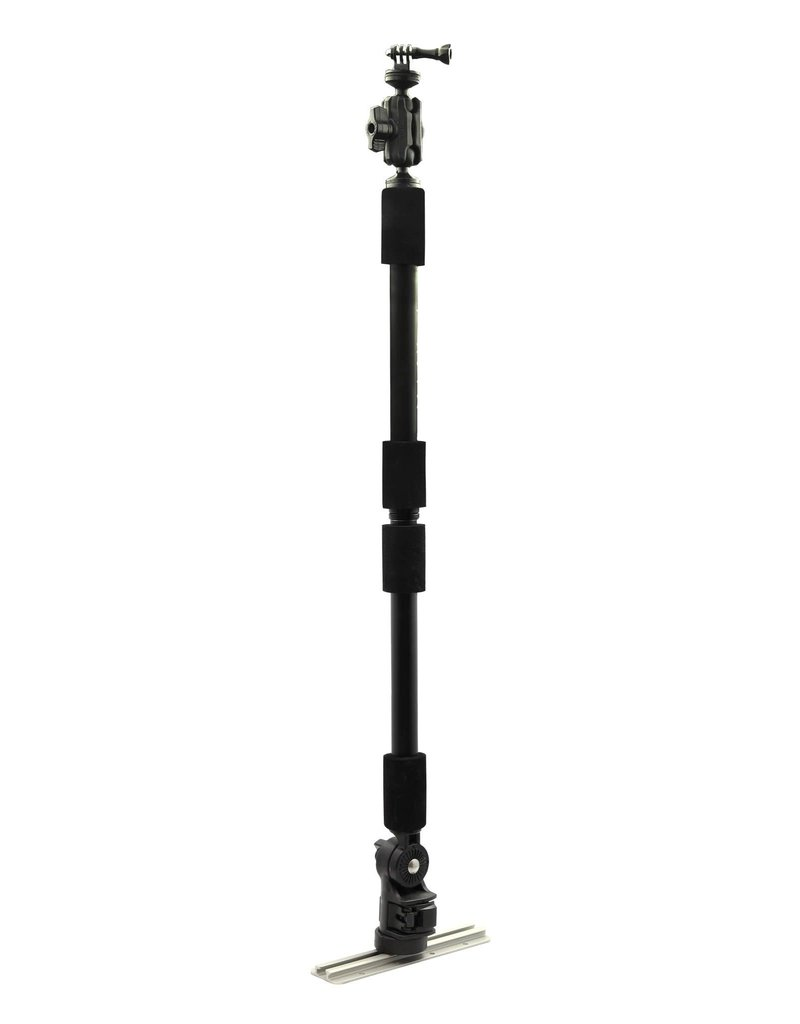 YAKATTACK PanFish Pro Camera Mount, Includes 1/4in -20 mount and GoPro
