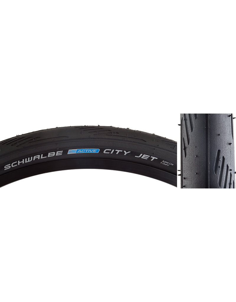SCHWALBE CITY Jet ACTIVE LITE Bicycle Tire 26x1.5