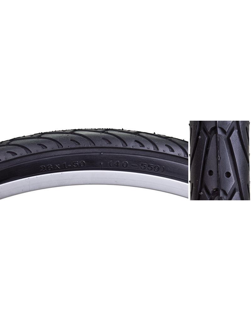 SUNLITE Sunlite Bicycle Tire 26x1.5 CITY SLICK II FLATSHLD WIRE BELTED