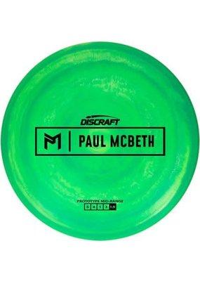 Discraft Paul McBeth Prototype Mid Range Golf Disc