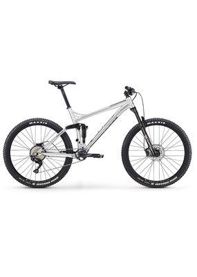 "Fuji Fuji Reveal 27.5"" 1.1 Full Suspension Mountain Bike Raw Aluminum Medium 17"