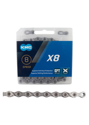 KMC KMC X8 Bicycle Chain 6 7 8 Speed 116 Link