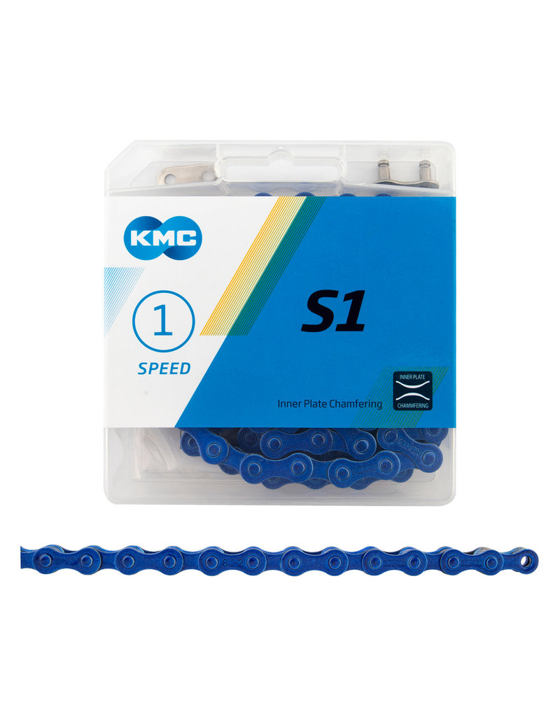 KMC KMC S1 Single Speed Bicycle Chain 112 Link