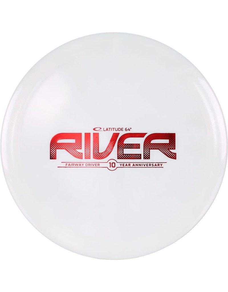 Latitude 64 Latitude 64 Opto X Glimmer 10 Year Anniversary River Fairway Driver Golf Disc
