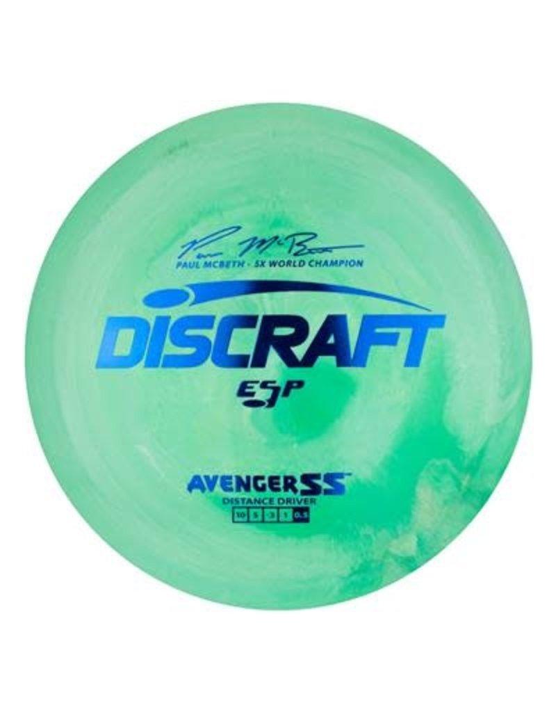 Discraft Discraft Paul McBeth ESP Avenger SS Distance Driver Golf Disc