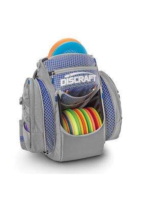 Discraft Discraft Grip EQ BX Disc Golf Bag Gray and Blue