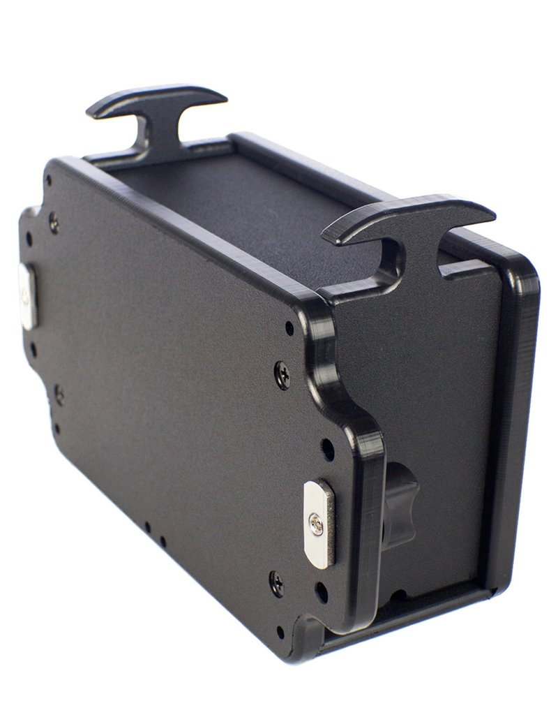 YAKATTACK CellBlok, track mounted, accepts 7.2Ah and 9Ah batteries, Includes box and Hardware