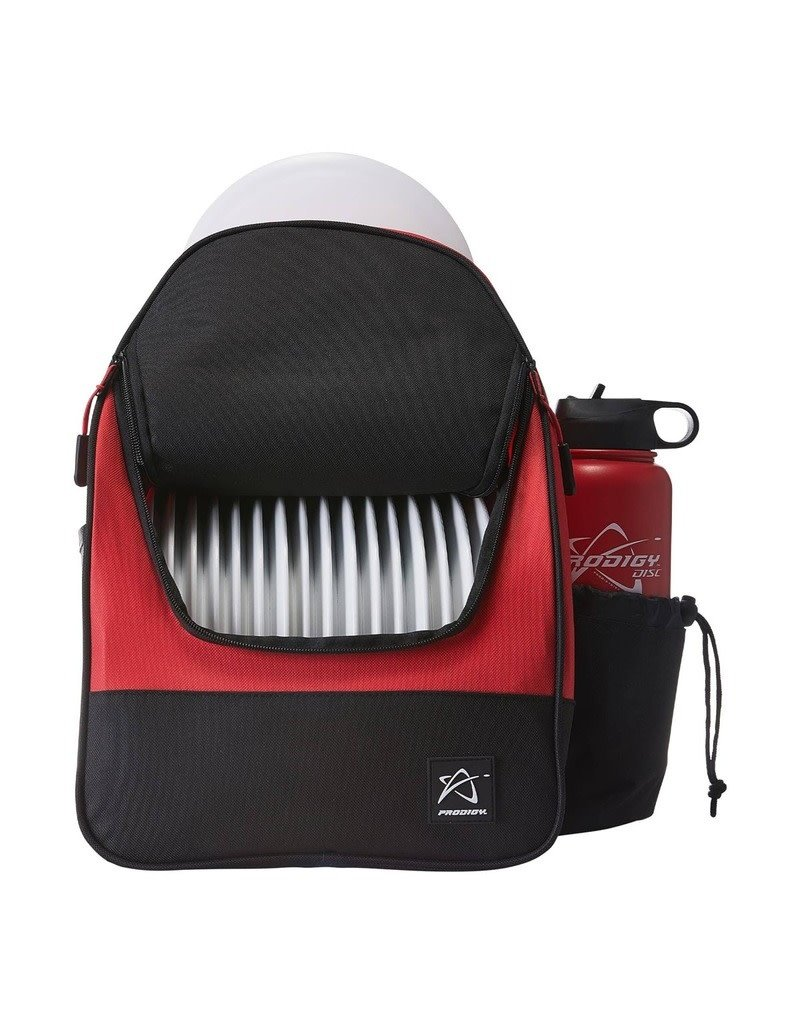 Prodigy Disc Golf Prodigy BP-4 Disc Golf Backpack - Red/Black