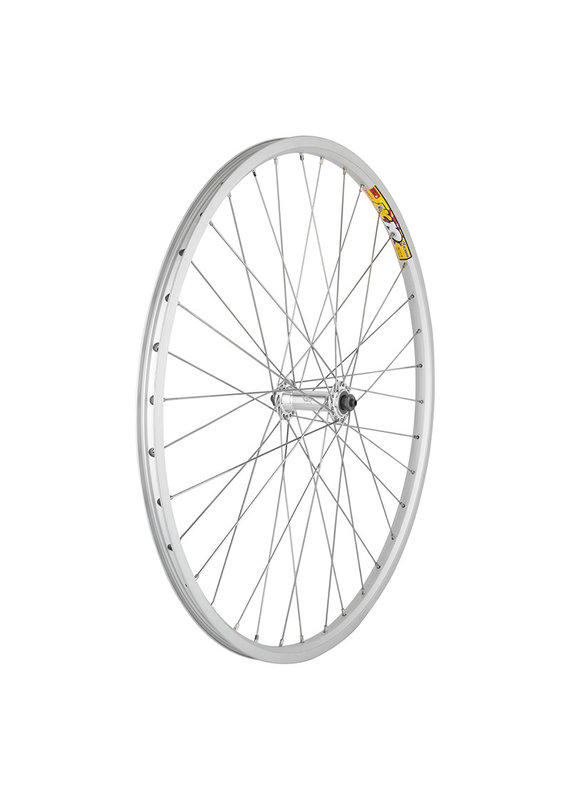 BICYCLE WHEEL 26x1.5 SILVER ALLOY QUICK RELEASE SL SS2.0SL