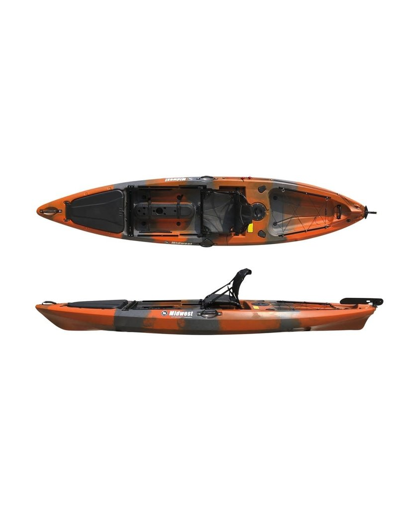 Midwest Kayaks MKT 130 Fishing Kayak