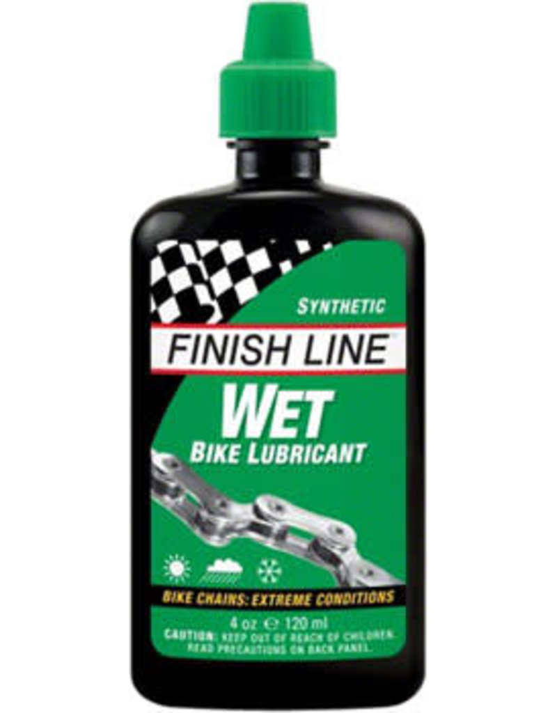 Finish Line WET Bike Chain Lube - 4 fl oz, Drip