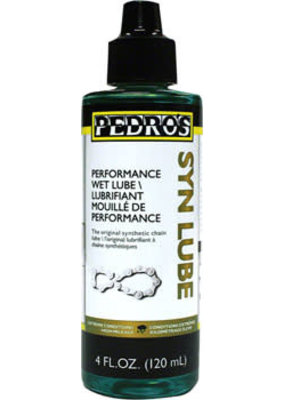 Pedro's Pedro's Syn Lube Wet Bike Chain Lube - 4 fl oz, Drip