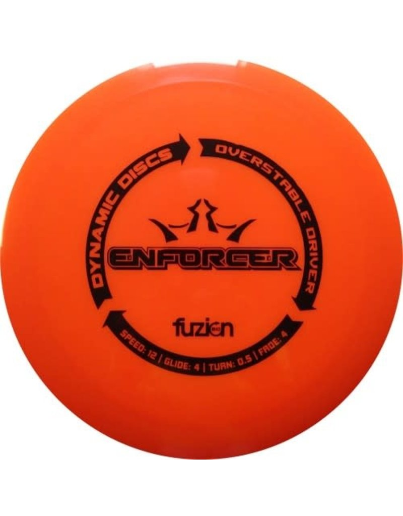 Dynamic Discs Dynamic Discs Bio Fuzion Enforcer Overstable Driver Golf Disc