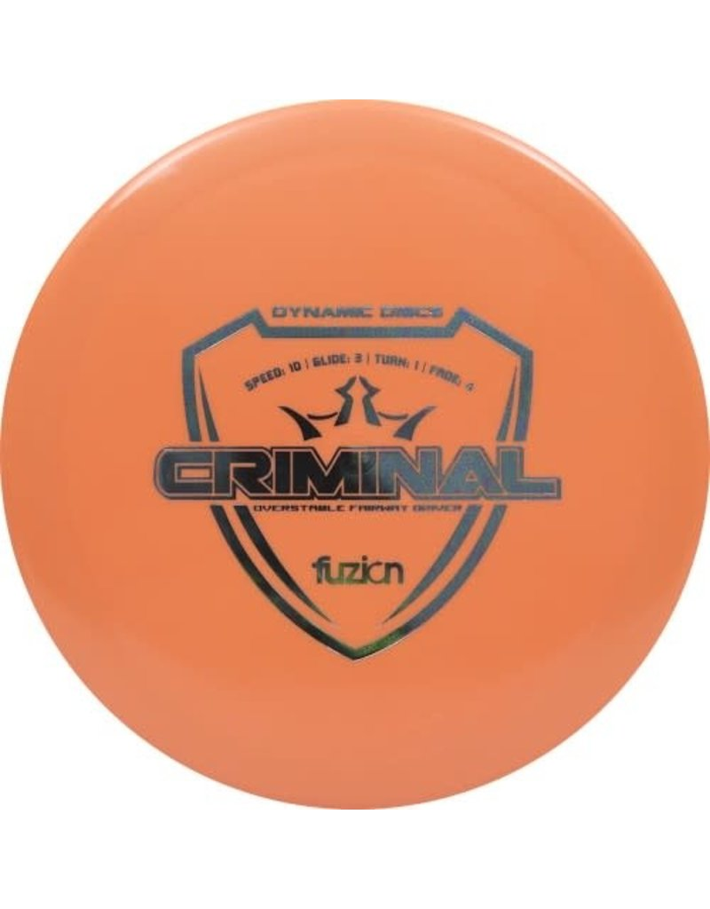 Dynamic Discs Dynamic Discs Fuzion Criminal Overstable Fairway Drive Golf Disc