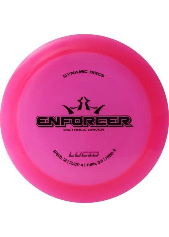 Dynamic Discs Dynamic Discs Lucid Enforcer Distance Driver Golf Disc