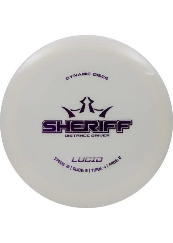 Dynamic Discs Dynamic Discs Lucid Sheriff Distance Driver Golf Disc