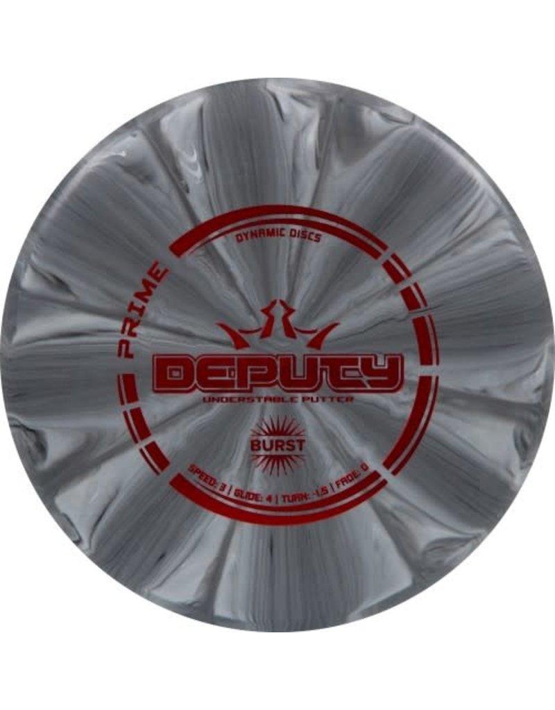 Dynamic Discs Dynamic Discs Prime Burst Deputy Putter Golf Disc