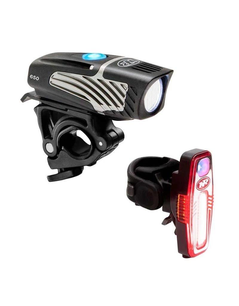 NITERIDER Niterider Lumina 650/Sabre 110 Bicycle Headlight Tail Light Combo Set