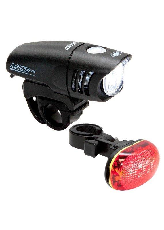 NITERIDER NiteRider Mako 200 and TL6.0 Headlight and Taillight Set