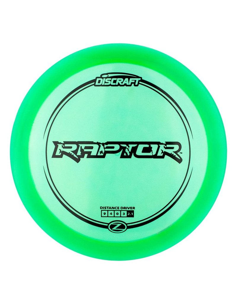 Discraft Discraft Z Line Raptor Distance Driver Golf Disc