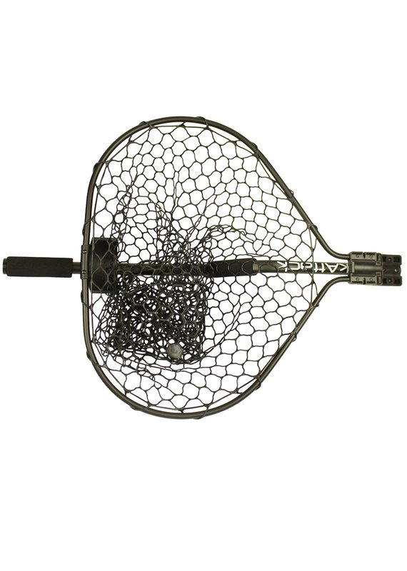 "YAKATTACK Yak Attack  Leverage Landing Net 20""x 21"" Hoop with Foam Extension"