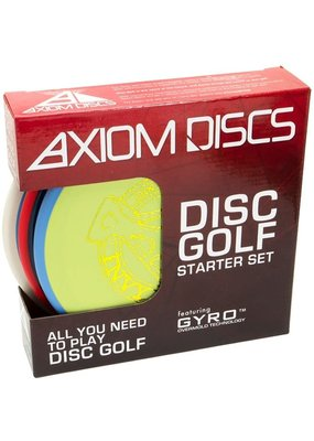 Axiom Discs Axiom Discs Premium Disc Golf Starter Set