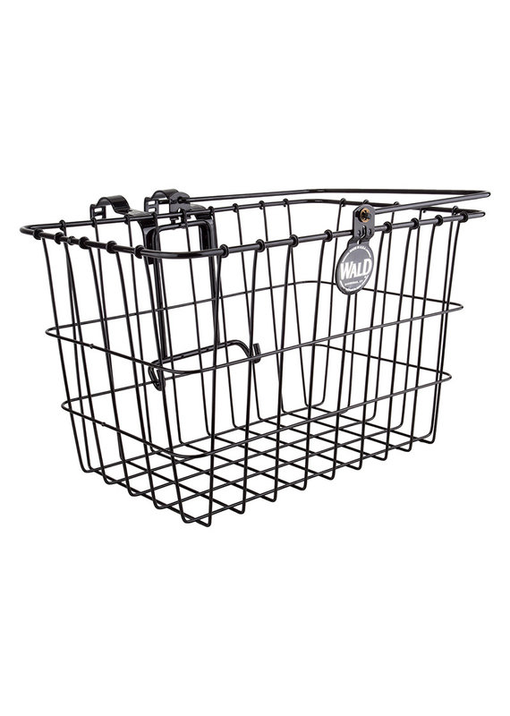 WALD LIFT-OFF Front Bicycle Basket WITH ATTACHMENT BRACKET