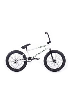 Cult Cult Crew Devotion 20 Inch BMX Bicycle Panza White